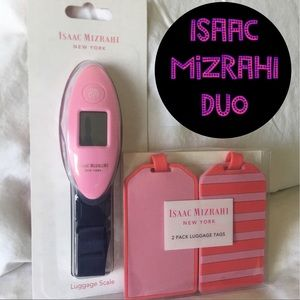 Luggage scale and tags set